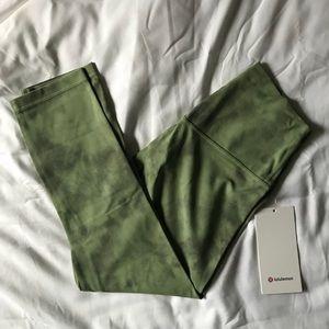 """Lulu align HR crop 21"""" leggings"""